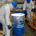 Estaciones firman convenio con empresa especializada para el retiro de residuos peligrosos