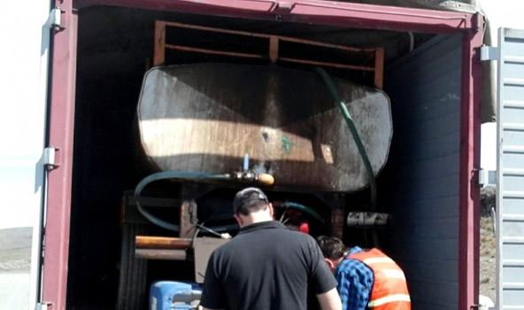 Fuertes controles del Gobierno al transporte de combustibles en batanes y tambores