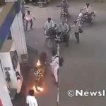 Grave accidente por cargar nafta a motociclista sin bajar del rodado