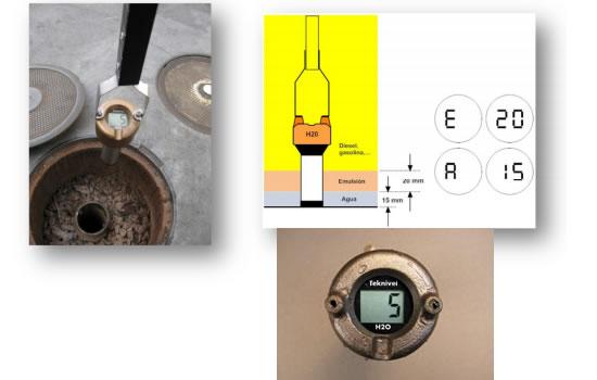 Presentan un dispositivo para controlar el agua y emulsión en tanques de de combustibles