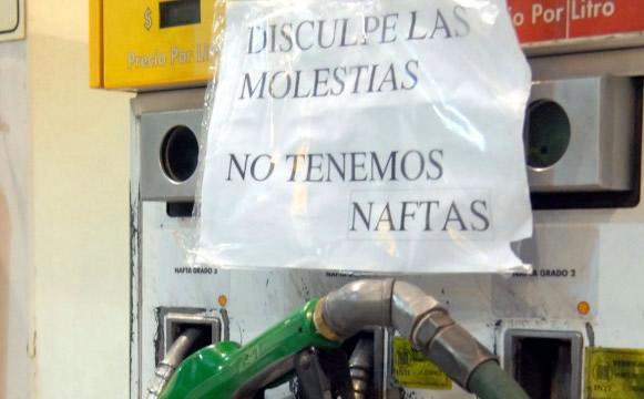 Destacan la sobreoferta de combustibles existente en el mercado