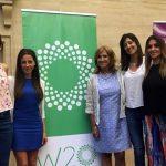 """Operadoras de YPF participaron del """"Diálogo Nacional del Sector Mujeres Empresarias"""" del W20"""
