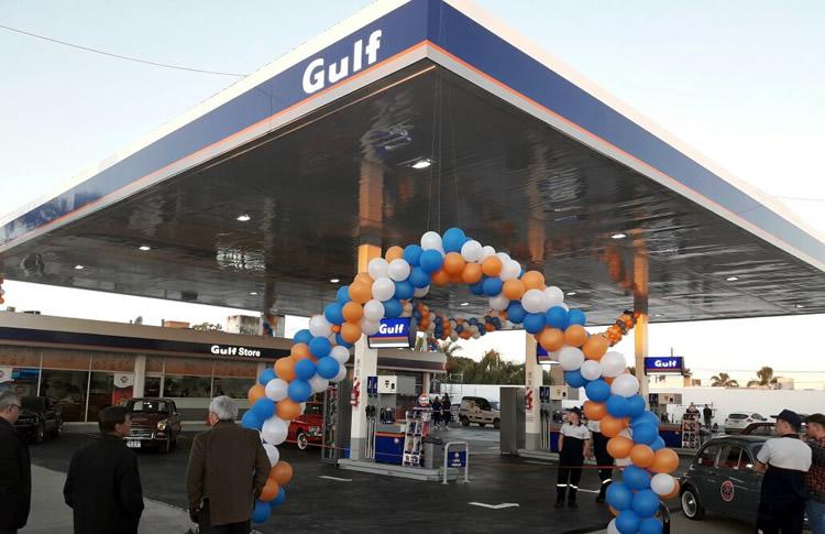 Ya opera la primera Estación de Servicio Gulf Oil del país