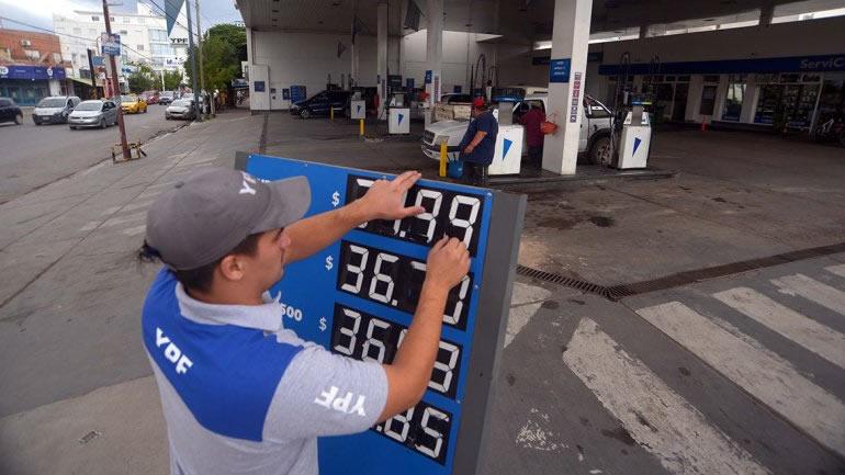 Oficializan la segmentación del Impuesto sobre los combustibles líquidos.