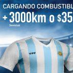 Nueva promo de YPF para acompañar a la selección argentina en la Copa América