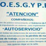 El sindicato no descarta un paro nacional de Estaciones de Servicio en rechazo del autodespacho
