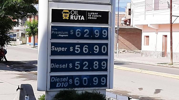 """Impulsan la creación de un """"Foro por la igualdad de los precios de los combustibles"""""""