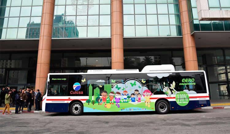 El Gobierno subsidia el cambio de flota de ómnibus diesel por unidades eléctricas