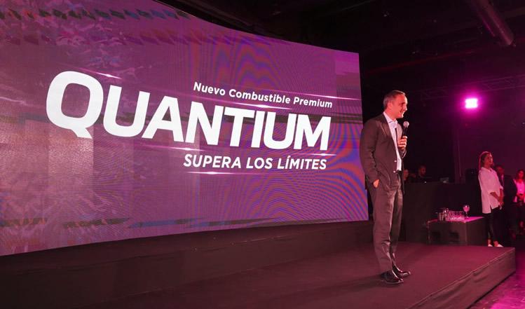 AXION energy presentó Quantium, su combustible premium de más alta tecnología