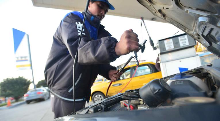 Al igual que la nafta, se registran caídas del 90 por ciento en ventas de GNC