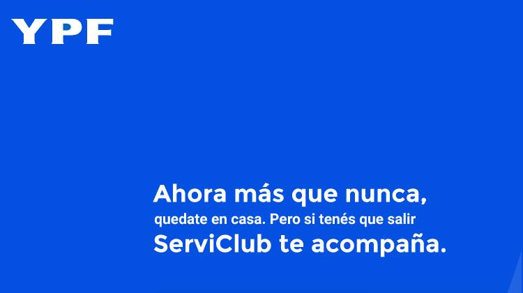 Para los que tienen que salir de sus casas, YPF relanza promociones para socios Serviclub