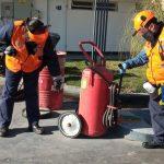 Realizan controles de seguridad e higiene especiales por Covid-19 en Estaciones de Servicio