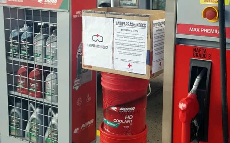Estación de Servicio colabora con tareas solidarias en la pandemia