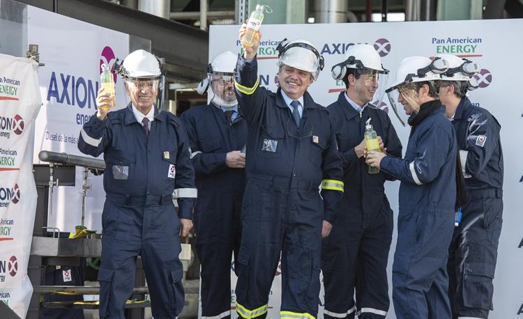 AXION energy producirá en el país el diesel de mayor calidad del mundo