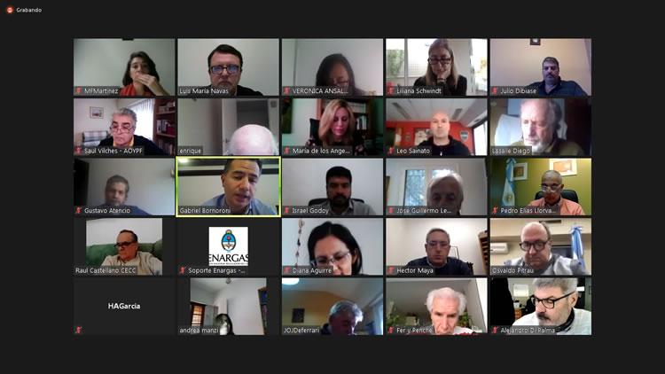Primera reunión de la Comisión de trabajo conjunto entre el ENARGAS y las expendedoras de GNC