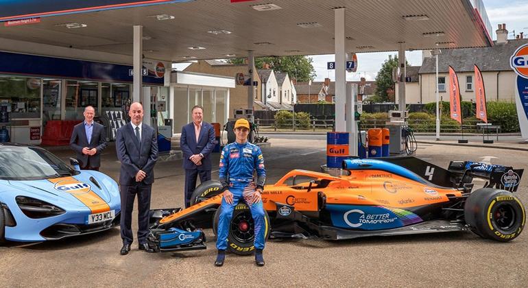 McLaren suma un nuevo patrocinador, Gulf Oil — OFICIAL