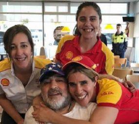 El día que Diego Maradona revolucionó una Estación de Servicio