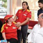 Ponderan el esfuerzo y la eficacia de trabajadores con discapacidad en las Estaciones de Servicio durante la pandemia