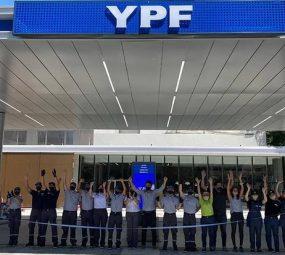 YPF inauguró su primera Estación de Servicio con estructura de última generación