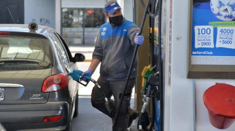 YPF aumentó el precio de los combustibles 3.5 por ciento