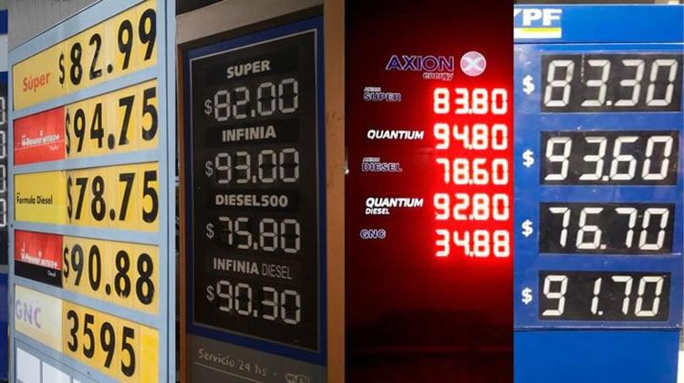 Combustibles: El Congreso insiste con la desigualdad de precios entre provincias