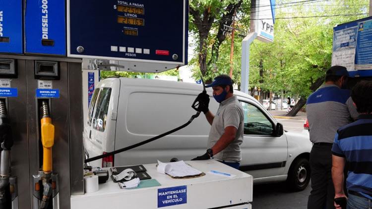 nafta YPF combustibles