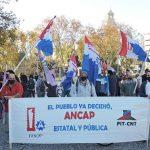Trabajadores de ANCAP analizarán en asamblea la definición de un plan nacional de lucha
