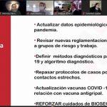 Capacitación: Marco legal y sanitario para este momento de pandemia