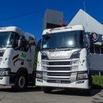 Sigue ampliándose por todo el país la red de camiones a GNC