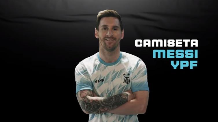 """La nueva campaña de YPF: """"Ponete la camiseta de Messi y alentá a la selección"""""""